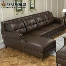 semi aniline leather sofa awesome small leather sofa set or coffee brown dark style sectional heated