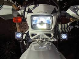 Bikemaster Hid Headlight And Visionx Led Driving Lights