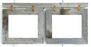 rustic 8x10 picture frame double frame double weathered rustic reclaimed 2 barn wood picture photo frame rustic 8x10