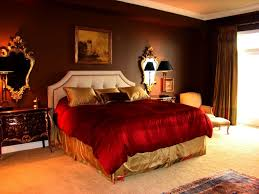Red And Brown Bedroom Gray And Red Bedroom Brown Motive Curtains Brown Laminated Wooden