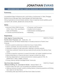 Best Temporary Loan Officer Assistant Resumes Resumehelp