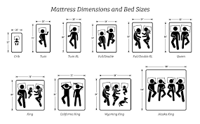 Crib Mattress Size Chart Mattress Size Chart And Dimensions What Size Is Best For You