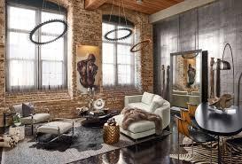 industrial modern lighting. Living Room Industrial Modern Style Furniture Decorating Ideas Chic Design Lighting
