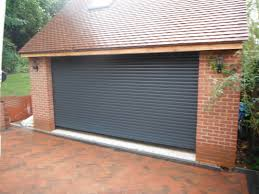 hormann rollmatic in anthracite grey garage door