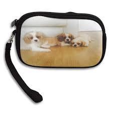 Cavachon Puppy Weight Chart Amazon Com Coin Purse Stunning Cavachon Puppies Mens Zipper