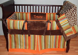 madagascar orange baby bedding larger image