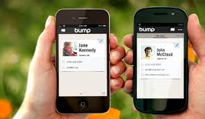 Bump Instantly Exchange Virtual Business Cards With A Fist Bump