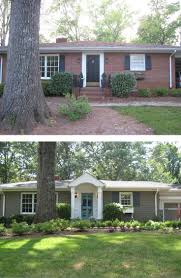 Ranch House Curb Appeal 10 Before And After Curb Appeal Photos Pretty Purple Door