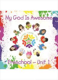 Preschool Resource Disc Unit 1