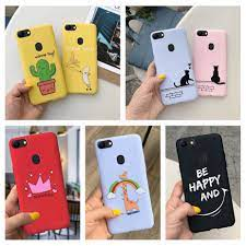 Case For Oppo A73 / Oppo F5 Youth Casing CPH1725 Cute Silicone Soft  Protection Painted Phone Cover