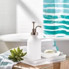 frosted glass bathroom accessories. Product Image For Porto Frosted Glass Bath Ensemble 2 Out Of Bathroom Accessories