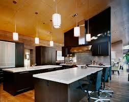 kitchen island breakfast bar pendant lighting. Kitchen Island, Breakfast Bar, Lighting, Imposing Contemporary Home In Aspen, Colorado Island Bar Pendant Lighting