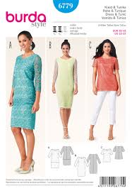 Burda Patterns Best 48 Burda Pattern Misses Lace Tiered Dress And Top