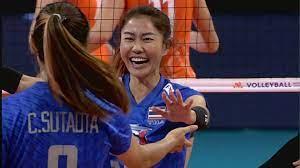 ดูย้อนหลัง ไฮไลท์ วอลเลย์บอลหญิงไทย เนชั่นส์ลีก week 3   Thaiger ข่าวไทย