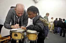 Getting in the beat: So Percussion uses toy instruments, bongos and wooden  blocks during performance in Kalamazoo (with video) - mlive.com