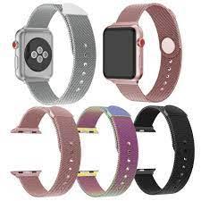 Dây đeo inox Milanese cho đồng hồ thông minh Apple Watch Series 5 / 4 / 3 /  2 / 1