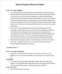 Network Engineer Resume Resume Sample