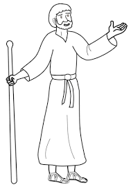 Cartoon Paul The Apostle Coloring Page Free Printable Coloring Pages