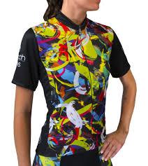 Details About Aero Tech Designs Womens Bike Jersey Hide A Rider Cycling Top Biking Jerseys