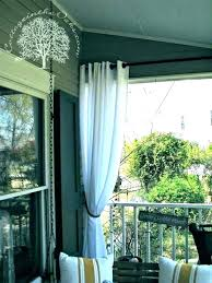 various patio curtain privacy curtains for ideas outdoor decorating