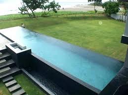 infinity pool design backyard. Infinity Pool Design Landscape Small Backyard