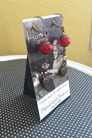 Earring Display Stand Diy HarlowEarringBusinessCardStand Jewelry Making Journal 80
