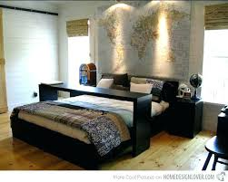 contemporary bedroom decor. Mens Bedroom Decorations Decorating Decor Marvelous Design Masculine Modern Contemporary Bedrooms Awesome Beds Bed Table Wall