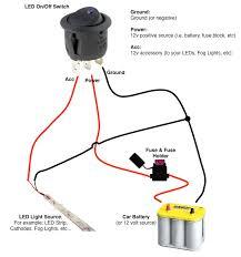 rocker switch wiring diagram