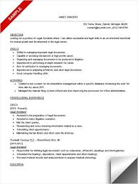 Legal Assistant Resume Magnificent Legal Assistant Resume Sample Books Worth Reading Pinterest