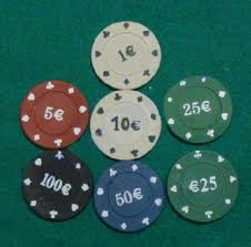 Texas Holdem Rules Chip Values Colorful Poker Chips With A