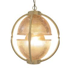 matt gold glass orb pendant light prismatic glass orb pendant light