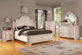 Customizable Bedroom Sets Queen Panel Traditional Alabaster White ...
