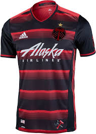 Adidas Portland Timbers Authentic Away Jersey 2016