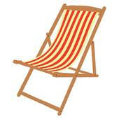 lounge chair clipart. Plain Clipart Wooden Beach Chaise Longue Deckchair Deckchair Deck Chair And Umbrella To Lounge Clipart L