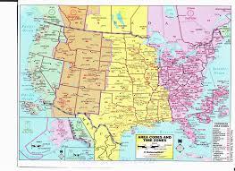 Time Zones Map Usa And Canada Secretmuseum