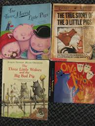 we have also been reading non 2393 1 traditional versions of this familiar tale such as the true story of the three little pigs