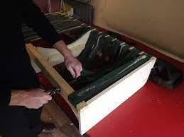 sinking sofa seat spring repair the
