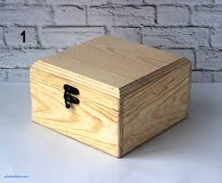 jewelry box ring holder luxury unfinished box plain box diy wood box natural wood box jewelry