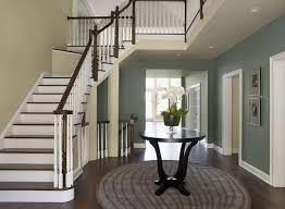 grey blue paint colorsBlue Entryway Ideas  Formal Sophisticated Entry  Paint Color