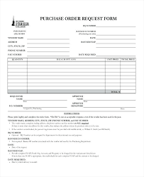 Purchase Order Request Template Excel Luxury Requisition Form In Doc ...