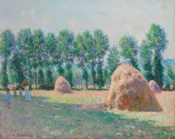 claude monet s haystacks at giverny to highlight christie s evening of impressionist and modern art