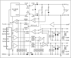 using the max3157 high cmr rs 485 transceivers application note the max3157 functional block diagram