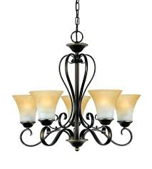 5 light bronze chandelier ss 5 light inch bronze chandelier ceiling light in champagne marble glass