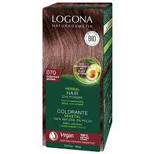 Logona Hair Dye Color Chart Logona Herbal Hair Colour Powder Chestnut Brown Free Uk