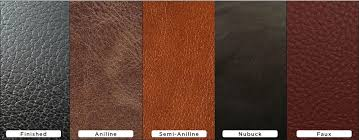 before leather is ready to be used to cover furniture items it starts off as a hide usually from cattle and needs to be developed through various