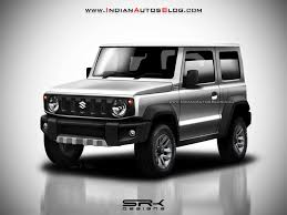 2018 suzuki samurai. simple suzuki 2018 suzuki jimny rendering front three quarters silver for suzuki samurai w