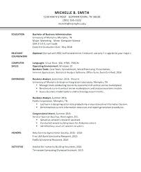 Beta Gamma Sigma Resume Best Resume Header Template Version B Option 48 Free Giancarlosopo
