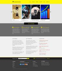 Business Website Templates Business Website Psd Template Business Portfolio Website Template 7