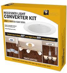 installation recessed light converter kit box