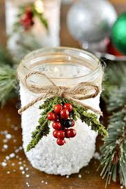 Mason Jar Holiday Decorations 100 Christmas Decorations You Can Make And Sell Christmas Celebration 14